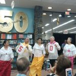 Kahuku Public & School Library's 50th Anniversary celebration with a Filipino Dance Troupe