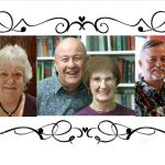 Photo collage of Hawaii Fiction Writers group members