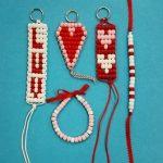 Pony Beads Keychains