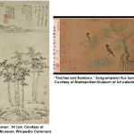 two examples of Chinese paintings
