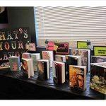 Teen book display