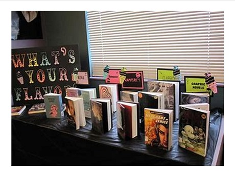 Teen book display
