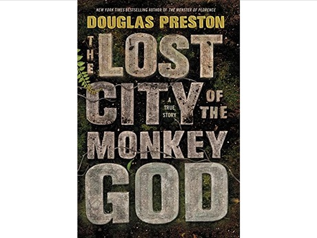 Lost City of the Monkey God book cover