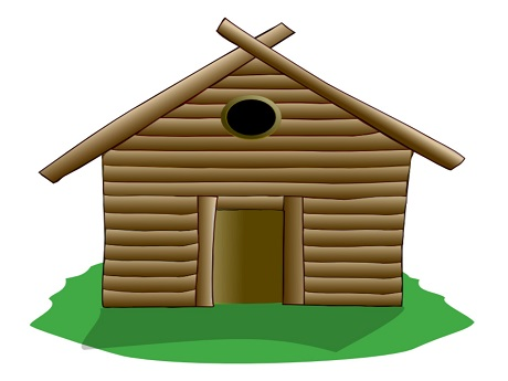 Hawaii State Public Library Systemlog Cabin Cardboard Craft