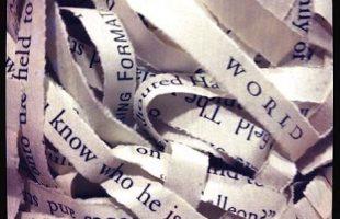 Shredded word sentences