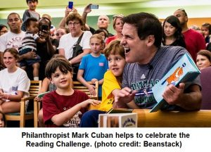Philanthropist Mark Cuban