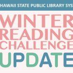 Winnter Reading Challenge Update graphic