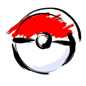 Artistically Drawn Poké Ball