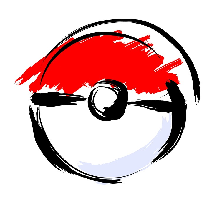 Artistically Drawn Poké Ball