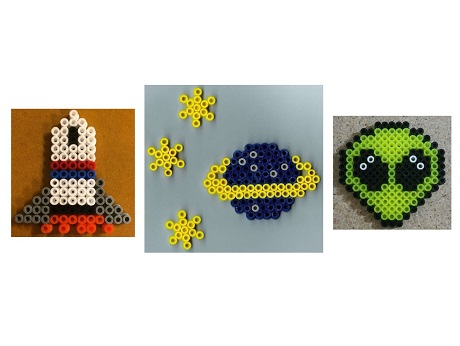 Hawaii State Public Library SystemPerler Party: Space Themed
