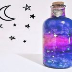 DIY Nebula-in-a-Jar