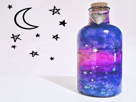 DIY Nebula-in-a-Jar