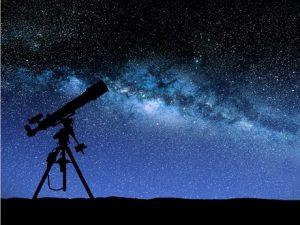 Nighttime stargazing