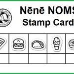 Nene NOMS stamp card