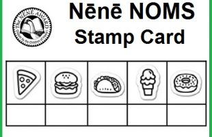 Nene NOMS stamp card