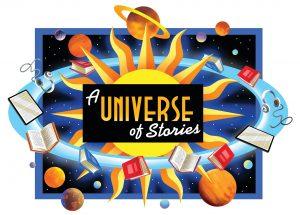 A Universe of Stories - Summer Reading Program logo