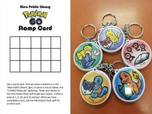 stamp card keychains