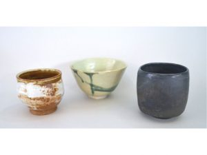 photograph of chawan - Japanese tea bowls