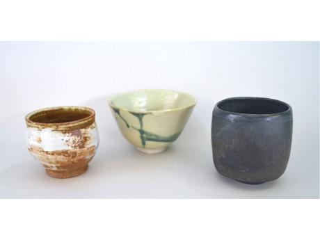 photograph of chawan - Japanese tea bowls