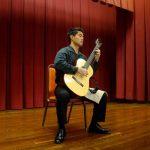 Guitarist Aaron Cardenas