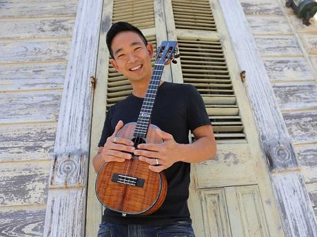 Ukulele virtuoso Jake Shimabukuro
