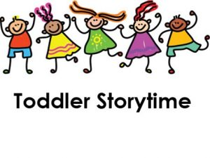 Toddler Storytime with cartoon kids dancing