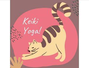 Keiki Yoga Cat Stretching