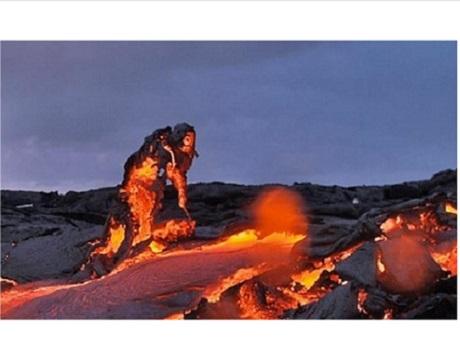 Lava, volcano