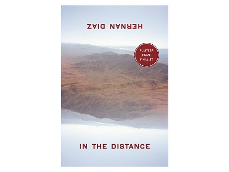 book cover showing mountains fading into the distance