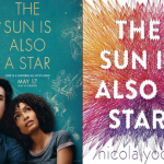 The Sun Is Also A Star Movie Poster with Book Cover