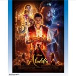 Movie poster for Disney's 2019 live action Aladdin film