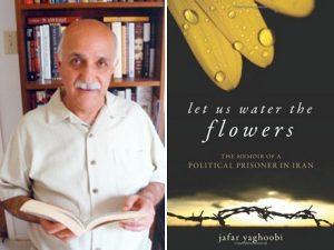 Author Jafar Yaghoobi and book cover