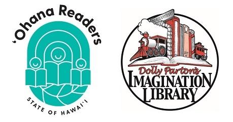 Ohana Readers and Imagination Library logos