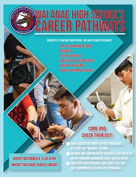 WHS career pathways CTE program