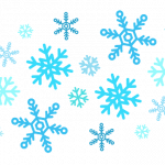 line drawings of snowflakes