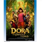 Movie poster of 2019 film Dora and the Lost City of Gold