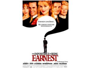 movie poster The Importance of Being Earnest