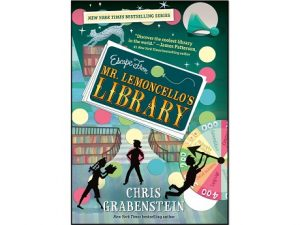 Book cover for Escape from Mr. Lemoncello's Library