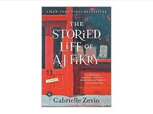 Color image of front cover of the novel The Storied Life of A.J. Fikry: a Novel by Gabrielle Zevin