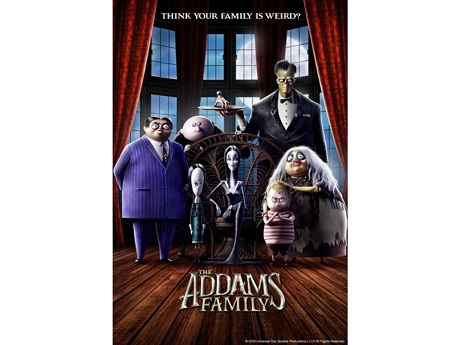 Addams family 2019 movie poster