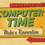 Computer Time - Make a Reservation