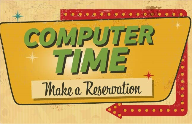 Computer Time Resumes Oct. 5th