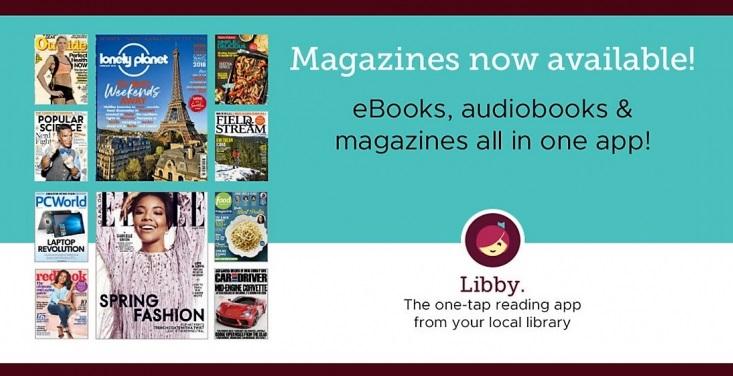 E-Magazines Libby App