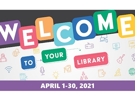 Join the National Library Week Virtual Reading Challenge!
