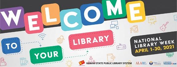 2021 National Library Week logo