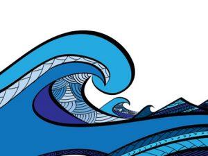 Tsunami artwork