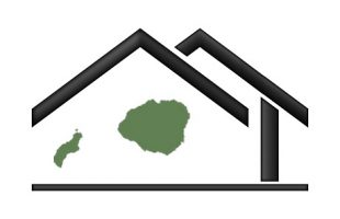 House silhouette with Kauai & Niihau islands