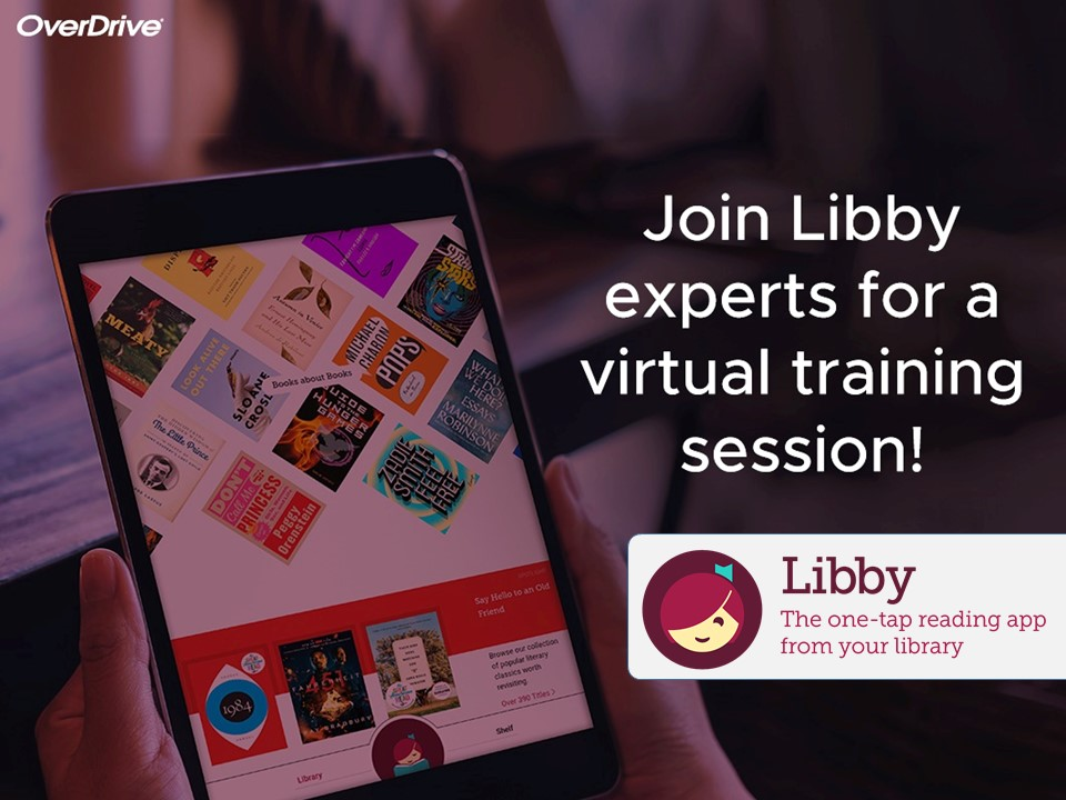 7/29 Virtual Event | Learn How to Use the Libby App
