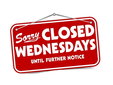 Libraries to Close Wednesdays Beginning August 18th