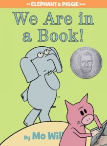 Cover of book We Are in a Book by Mo Willems